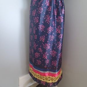 Dresses & Skirts - Small Navy Floral Ribbon Skirt